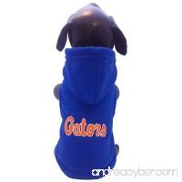 All Star Dogs NCAA Florida Gators Polar Fleece Hooded Dog Jacket - B005EVC0HQ