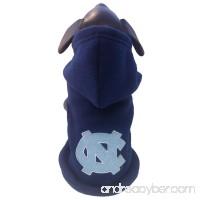 All Star Dogs NCAA North Carolina Tar Heels Polar Fleece Hooded Dog Jacket - B005EVCQ4S