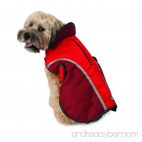 Calgary Dog Coat - Red - B077JJMF9F