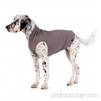 Gold Paw Stretch Fleece Dog Coat - Charcoal Grey Size 18 - B075LMMD2W