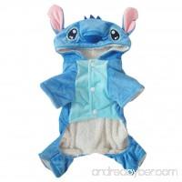 Hencool Disney Stitch Cartoon Pet Custume Coat for Small Medium Large Dogs (S) - B01M2WYL7S