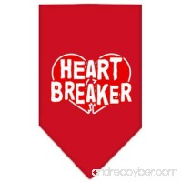 Mirage Pet Heart Breaker Screen Print Dog Bandana - B00ARCG6ZE