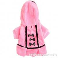 Pet Apparel  ღ Ninasill ღ Dog Coat Jacket Pet Supplies Clothes (S  Pink) - B075XJPQZB