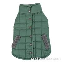 Speedy Pet Reversible Dog Clothes Winter Warm Comfortable Fleece Costumes Jacket Pet Coat - B076Q9LCPD