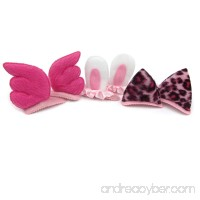 Alfie Pet by Petoga Couture - Alexandra Hair Clip 3-Piece Set for Dogs Cats and Small Animals - B01DZUMJB4