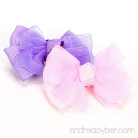 OOEOO Cute Pet Puppy Dog Hair Bows Clips Beautiful Bowknot Pup Grooming Supplies Accessory - B07F9KFK68