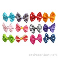 PET SHOW Bowknot Pet Dog French Barrette Hair Bows Clips Puppy Grooming Hair Accessories Pack of 10 - B00VOSG7LI