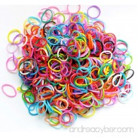 PET SHOW Pet Rubber Bands for Doll Dog Cat Hair Bows Grooming Accessories Pack of 1000 - B01174V240