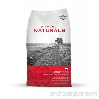 Diamond Naturals ADULT Real Meat Recipe Natural Dry Dog Food with Real Pasture Raised Lamb Protein - B000OCRNCW
