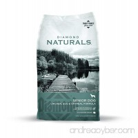 Diamond Naturals SENIOR Real Meat Recipe Natural Dry Dog Food with Real Cage Free Chicken - B000WFIWXU