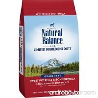 Natural Balance Limited Ingredient Diets Dry Dog Food - Sweet Potato & Bison Formula - B00JR99TP2