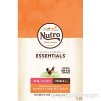 Nutro WHOLESOME ESSENTIALS Adult Dry Dog Food for Small & Toy Breeds - Chicken  Brown Rice & Sweet Potato Recipe - B00TQRKA12