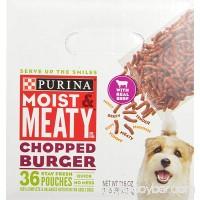 Purina Moist & Meaty Chopped Burger Adult Dry Dog Food - B000WFRPCY