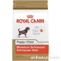 ROYAL CANIN BREED HEALTH NUTRITION Miniature Schnauzer Puppy dry dog food  2.5-Pound - B00JN9LR9C