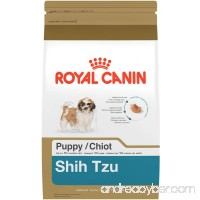 Royal Canin Breed Health Nutrition Shih Tzu Puppy Dry Dog Food - B00CW4XQBW