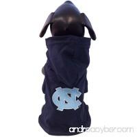All Star Dogs NCAA North Carolina Tar Heels Collegiate Cotton Lycra Hooded Dog Shirt - B005EQHXPK