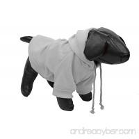 Fashion Plush Cotton Pet Hoodie Hooded Sweater - B00K3HAR12