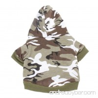 Haogo Pet Puppy Sweater Camouflage Hooded Sweatshirt for Small Dog Pet - B014SDYDP2