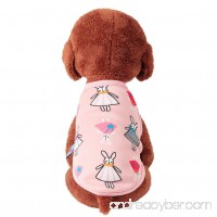 Kim88 2018 Cute Dog Cat Puppy Clothing Sweater Small Puppy Shirt Soft Pet Cat Coats - B0786DDM48