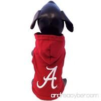 NCAA Alabama Crimson Tide Collegiate Cotton Lycra Hooded Dog Shirt - B005EVFEGU