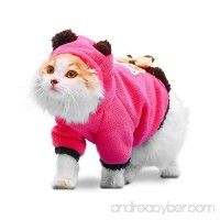 PLS Pet Halloween Hoodie for Cats  Hoodie for Dogs  Winter Dog Coat  Dog Costume  Cat Costume  Protects from Cold Weather  Halloween Sale - B01M70NFH1