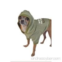 Ruff Ruff and Meow Dog Hoodie  Bad to Da Bone  Green  Medium - B005BVW8JY