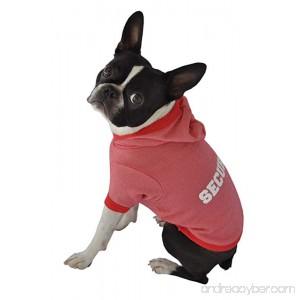 Ruff Ruff and Meow Dog Hoodie Security Red Medium - B005BVW9BQ