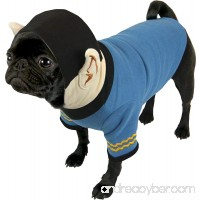 Star Trek Spock Dog Hoodie - Fits any size dog - Plush Embroidered Ears and Sweatshirt Material - B00H58RQH0
