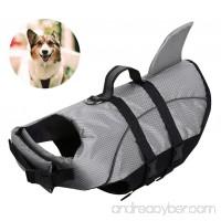 AOFITEE Dog Life Jackets - Ripstop Pets Life Vest  Reflective Float Coat  Safety Lifesaver for Small Medium and Large Dogs - B07FSH1CHZ