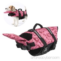 Dog life Jackets Pet Swimsuit Coat Vest for Swimming and Surfing Training with Chin flap - B071WLFRXF