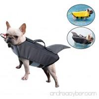 Dog Saver Reflective Life Jacket HORHIN Pet Safety Floatation Swimsuit Vest with Adjustable Buckles Dog Lifesaver Preserver Coat for Swimming Boating Hunting - B0797NRLDX