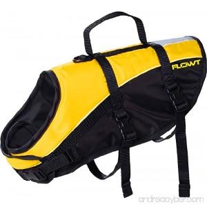 Flowt Dog Life Vest 40903-2X Dog Life Vest PFD Yellow 2X Large - B06XCMJL8L