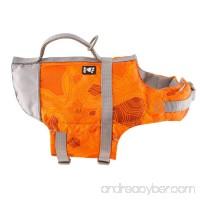 Hurtta Life Savior Orange Camo Dog Jacket - B079VSCRWT