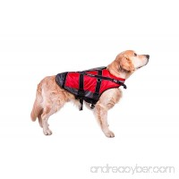 Non-stop dogwear Safe Life Flotation Vest Jacket With Professional Human Grade Material & Safety Handle - B00LKMBIEE