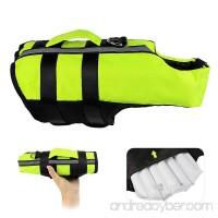Petleso Dog Saver Life Jacket Inflatable Adjustable Dog Life Jacket for Swimming Surfing Boating Dog Jacket Green - B07DDJVYDL