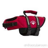Travelin K9 Premium Red Neoprene Dog Life Jacket  Reflective  Bouyant - B07CNBD4Q1