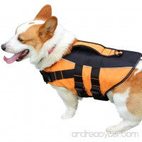 vecomfy Premium Dog Life Jacket for Swimming Thicken Safety Flotation Dog Life Vest for Small Dogs by - B07CM5GMB9