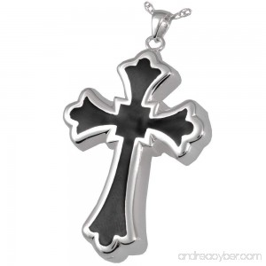 Memorial Gallery 3346gp Tattoo Cross 14K Gold/Sterling Silver Plating Cremation Pet Jewelry - B01EWHNT1I