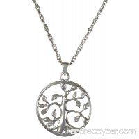 Memorial Gallery 3719gp Tree of Life 14K Gold/Sterling Silver Plating Cremation Pet Jewelry - B01EWHO6BU