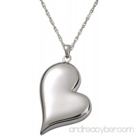 Memorial Gallery 3746gp Teardrop Heart 14K Gold/Sterling Silver Plating Cremation Pet Jewelry - B01EWHDNHS