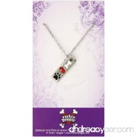 Rockin' Doggie Pewter Paw Necklace Bone/Heart/I Love My Dog - B003ZWYH0E