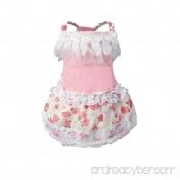 Axchongery Dog Dress  Puppy Bow Tutu Skirt Doggy Cat Princess Costume Pet Wedding Clothes - B07BMPMMRN