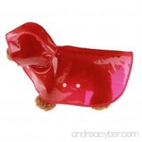Axchongery Dog Waterproof Summer Pet Raincoat Jumpsuit Puppy Hoodie Rainwear Clothes - B07B7GMPY7