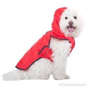 Fashion Pet Red Roll-n-Go Raincoat - B004OSQQZ2