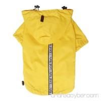 Puppia Authentic Base Jumper Raincoat  4X-Large  Yellow - B005XU09GM
