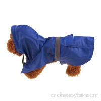Sunward Fashion Waterproof Dog Raincoat Outdoor Hooded Rain Coat for Dogs - B074QLJ5FW