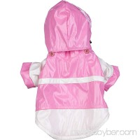 Two-Tone Pvc Waterproof Adjustable Pet Raincoat - B00500IUNE