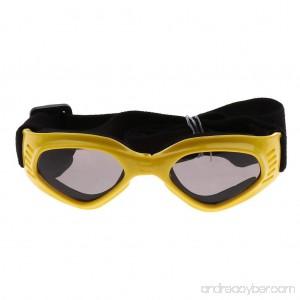 B Blesiya Foldable Dog Sunglasses - Puppy Cool Goggles UV Protection Eye Wear for Pets - B07FNHHZTP