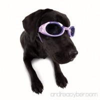 Doggles ILS Dog Goggles UV Sunglasses ALL SIZES Eye Protection Lens Shades New (Doggles ILS Goggles/Sunglasses Medium Lilac with Flowers) - B00LVR7ZG8