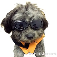 Kailian Dog Goggles Stylish Waterproof Anti-ultraviolet Sunglasses For Doggie Puppy - B06XF2K5TM